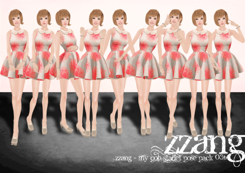 ZZANG - My Starlet Pose Pack 036