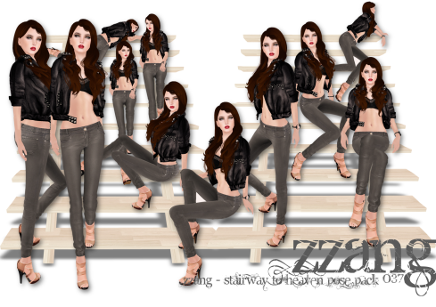 ZZANG - Stairway to Heaven Pose Pack 037
